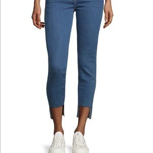 DTLA Brand Jeans with Step Hem Fray